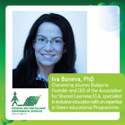Iva Boneva, PhD, Chevening Alumni Bulgaria