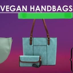 Clean, Green Sample Handbags