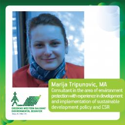 Marija Tripunovic, MA; Montenegro