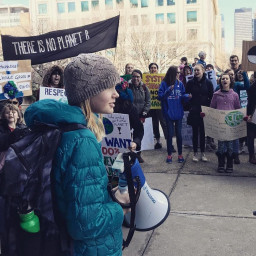 Sadie Vipond, YOUTH Climate Change Activist