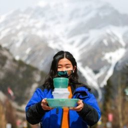 Luna Kuwano, YOUTH founder of Banff Isn't Disposable