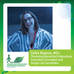 Sofija Bogeva, MSc, Chevening Alumni North Macedonia