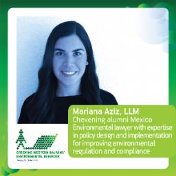 Mariana Aziz, LL.M., Chevening Alumni Mexico