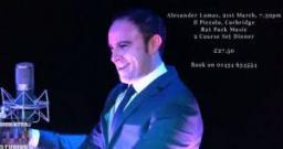 Alexander Lomas Entertainer & Compere